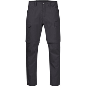 Bergans Utne Zip-Off Pants Men solid charcoal